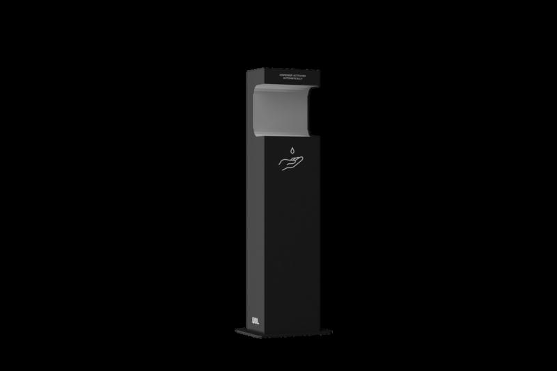 2020 Ergoline Qbl Hand Sanitizer Dispenser Small Frittstående